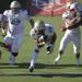 St. John Bosco running back George Holani scores what proved to be the game-winning points against St. John's College on Saturday.
