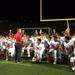 """Lenape coach Tim McAneney talking to the Indians after beating a """"great program"""""""