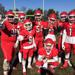 Lenape seniors celebrate after Thanksgiving Day win