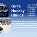 GIrls Hockey Clinics.