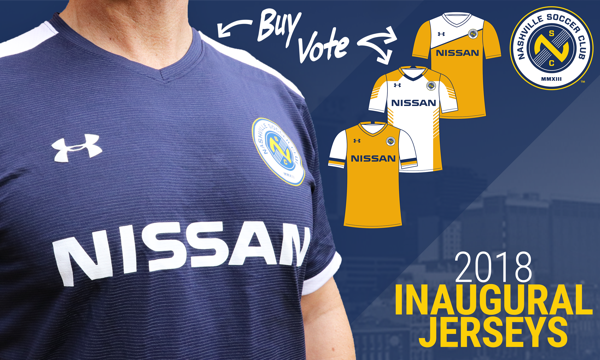 low priced 16a01 11d34 Nashville SC Reveals Dark Jersey For Inaugural Season