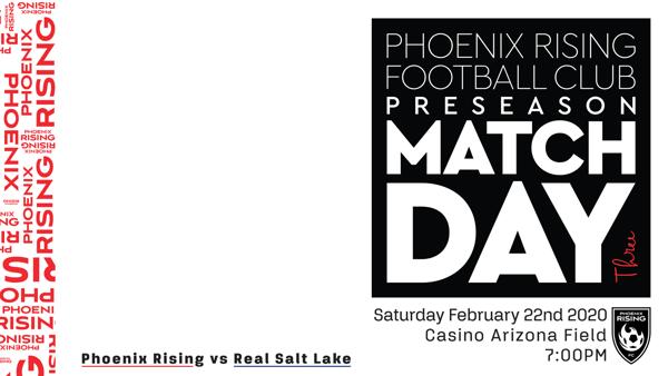 WATCH: Phoenix Rising FC vs. Real Salt Lake 2.20.20