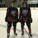 Pavel Karasek and Spencer Korona at the USPHL All-Star Game