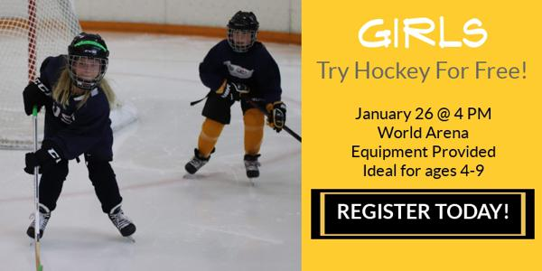 Try Hockey For Free - Girls! 0f39ee488