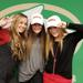 Kylie Buchanan, Reagan Coleman and Kristen Edmond, excited and looking forward to playing soccer at the next level