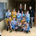 Boys 4th Grade Blue pose with their 2nd place medals