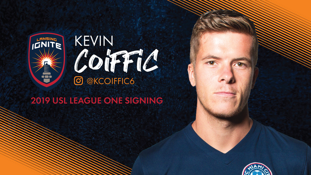 Lansing Ignite Adds French Defender Coiffic