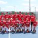 Boys tennis team at state