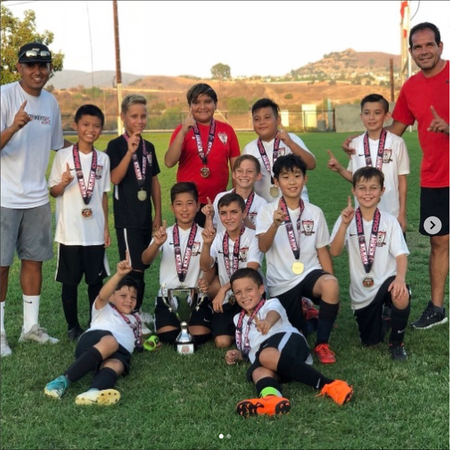 13c3c40ee Well done to our Strikers FC North B07 AC Brea Kick Off Classic Champions