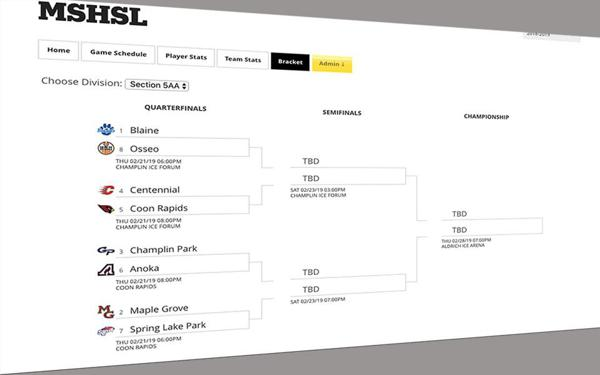Section seeds set, playoff brackets posted