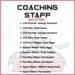 Titans announce 2021-22 Boys' Tier I Coaching Staff