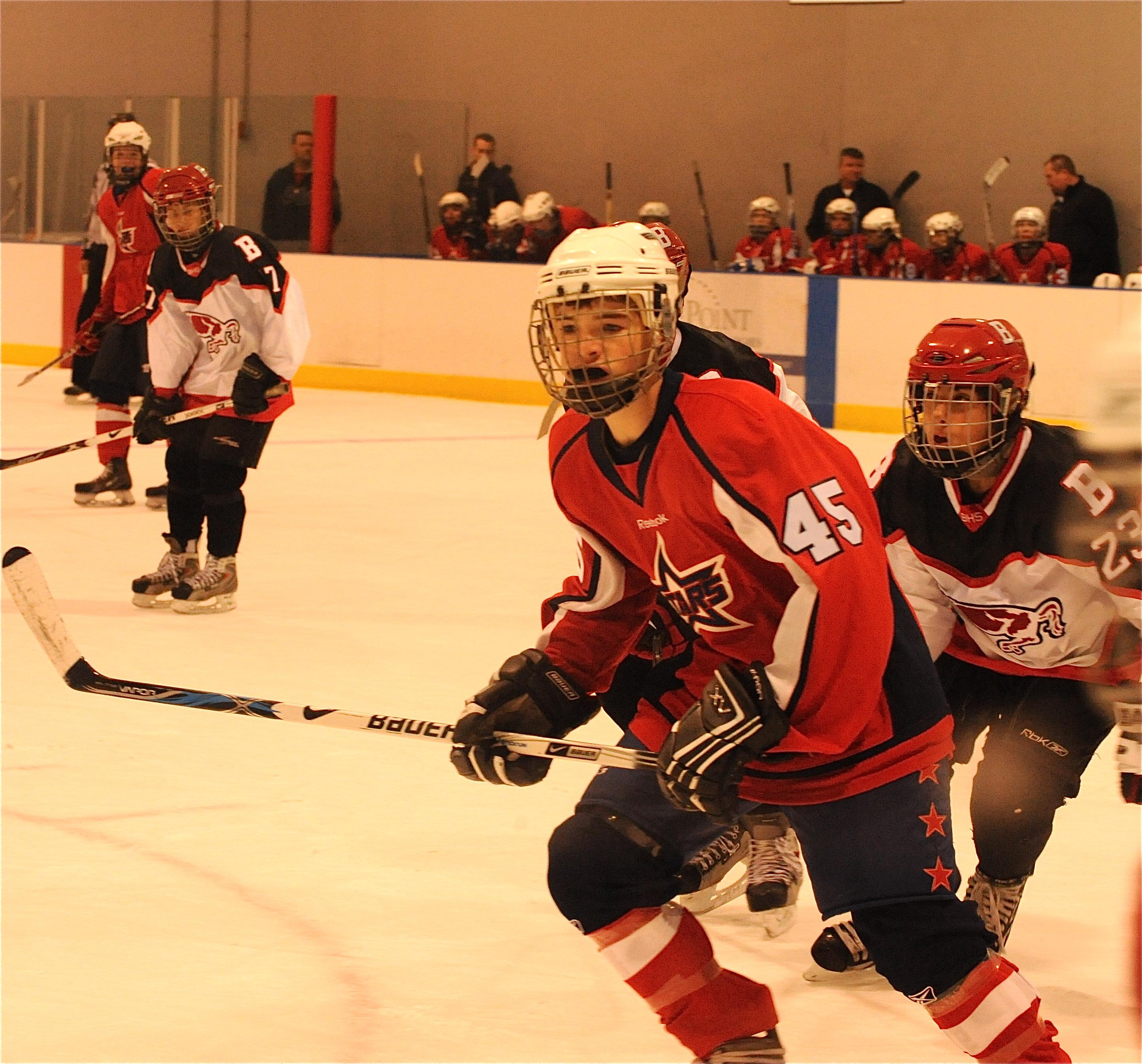 Suburban stars midget hockey