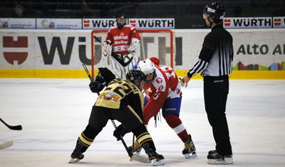 World Selects Invite Boys Hockey faceoff
