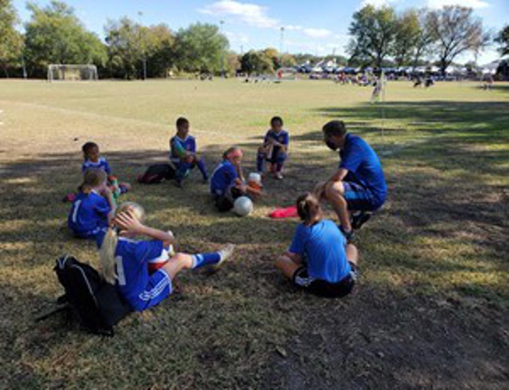T&C Sports Academy Team Talk Photo