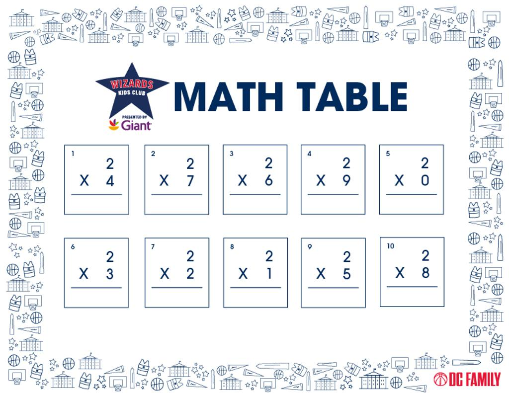 """""""2"""" Table"""