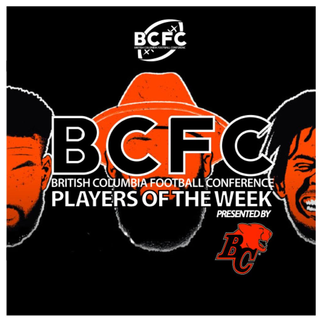 WEEK 1 BCFC Players Of The Week Presented by the BC Lions