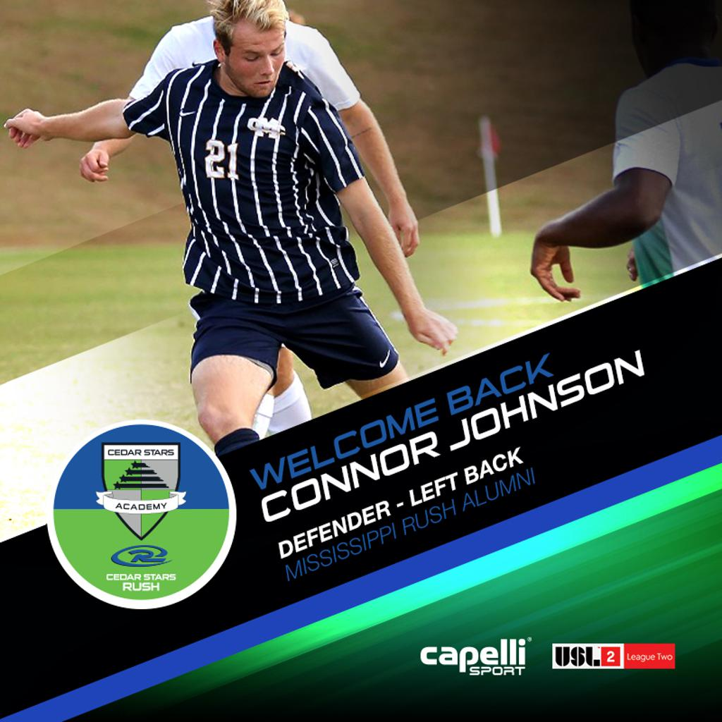Connor Johnson - Defender, Left Back