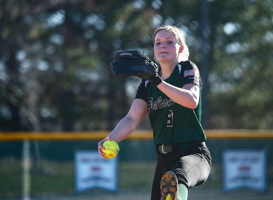 Faribault's McKayla Armbruster won the 2019 Ms. Softball Award after starring as one of the state's top pitchers this season. Photo by Cheryl Myers, SportsEngine