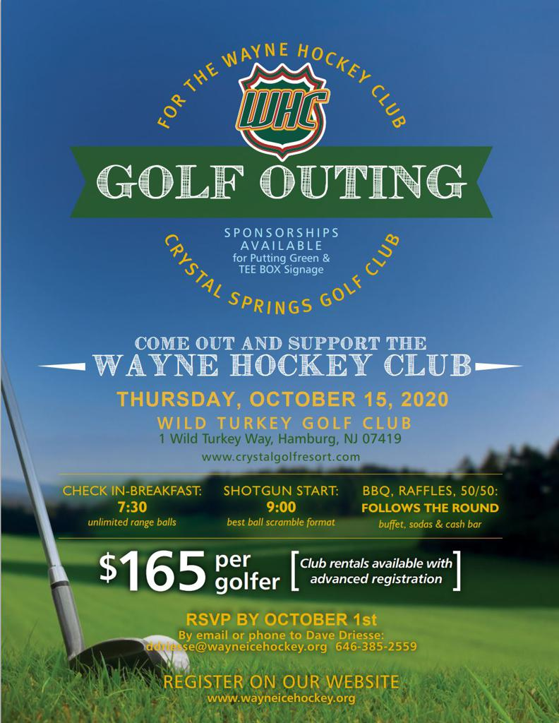 Annual WHC Golf Outing and Fundraiser