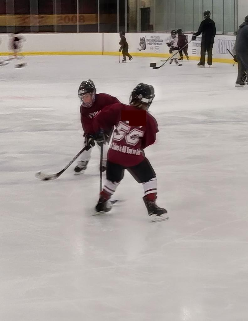 Little Wolf Pack players