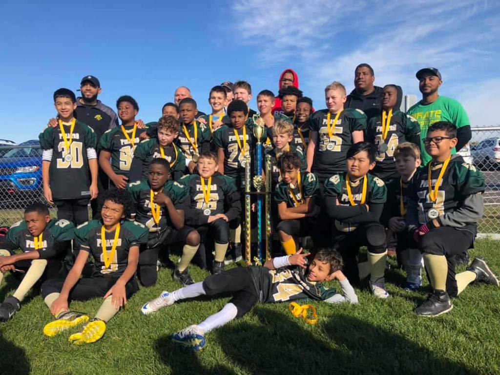 Big Lake, King of the Gridiron Champions for 6th Grade