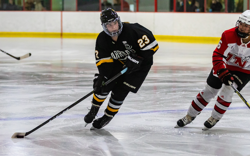 In a matchup packed with talent, Hannah Corneliusen leads No. 1-1A Warroad against No. 6-2A Wayzata on Saturday. Photo by Gary Mukai, SportsEngine