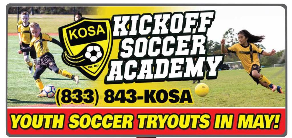 KOSA Tryouts 2018-2019 season