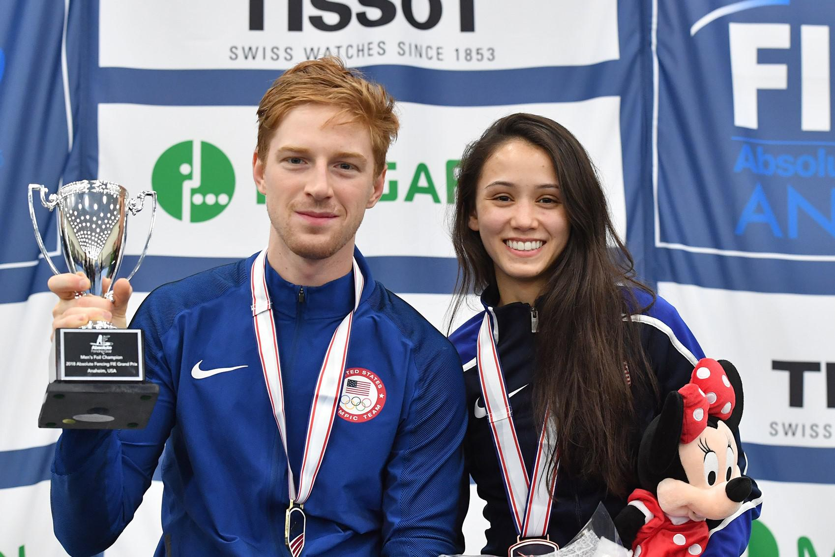 Race Imboden And Lee Kiefer Win Grand Prix Gold And Bronze