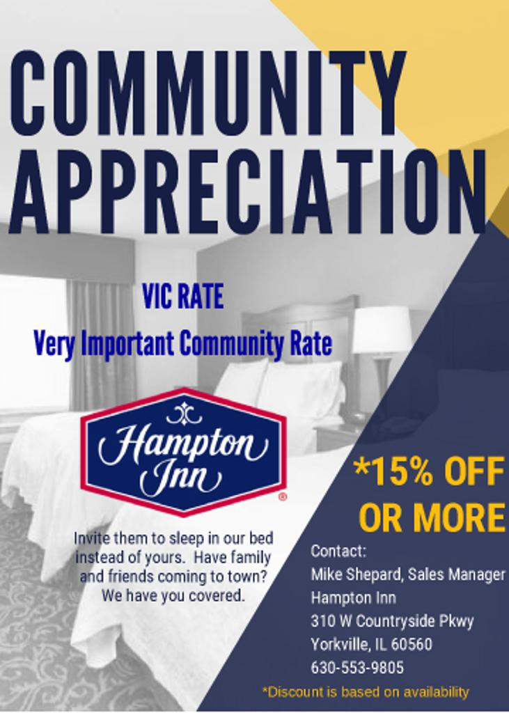Community Appreciation
