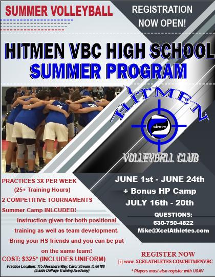 Hitmen HS Summer Program