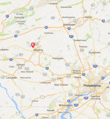 Fall Kickoff PA Map