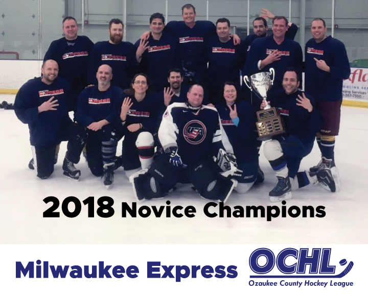 2018 Novice League Champions - Milwaukee Express