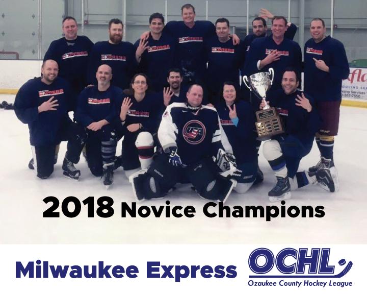2018 Novice League Champions - Milwaukee Express