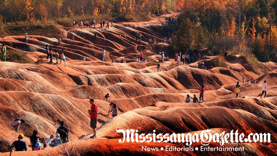 Cheltenham Badlands and badlands in caledon - Ontarios Cheltenham Badlands To Reopen This Spring 2018 - Mississauga Newspaper and Mississauga News and Bonnie Crombie