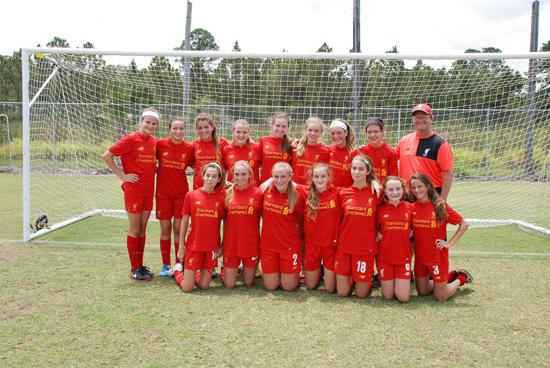 TSYSA Liverpool FC 03 Girls Shankly