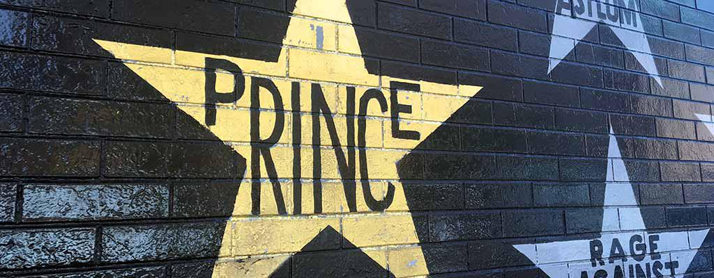 Prince star at First Avenue