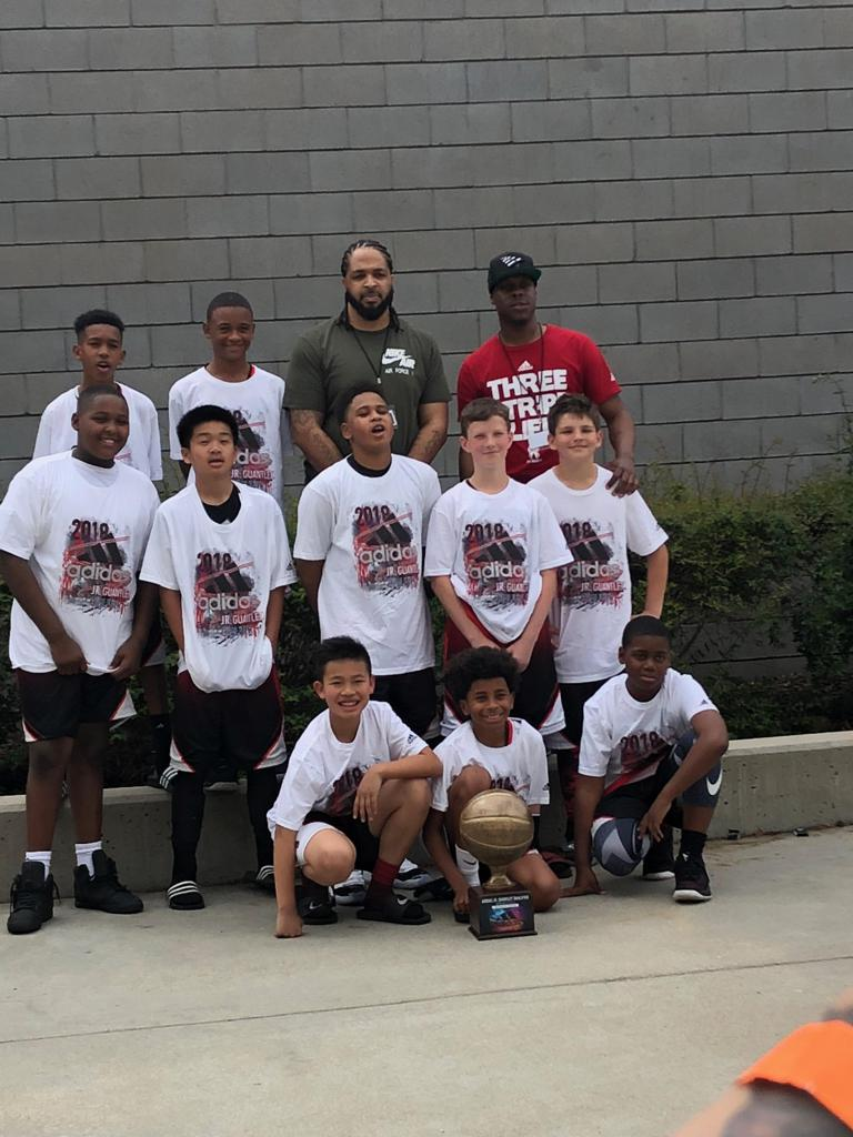 12u Pee Wee wins Fresno Session of Jr Gauntlet