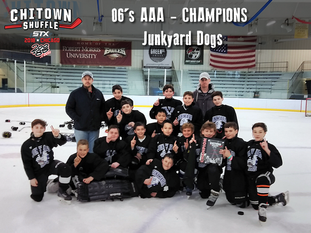 2018 Chitown Shuffle 2006 AAA Division Champions - Junkyard Dogs