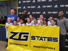 5th Grade Jagaurs Girls Blue ZG PA State Champions