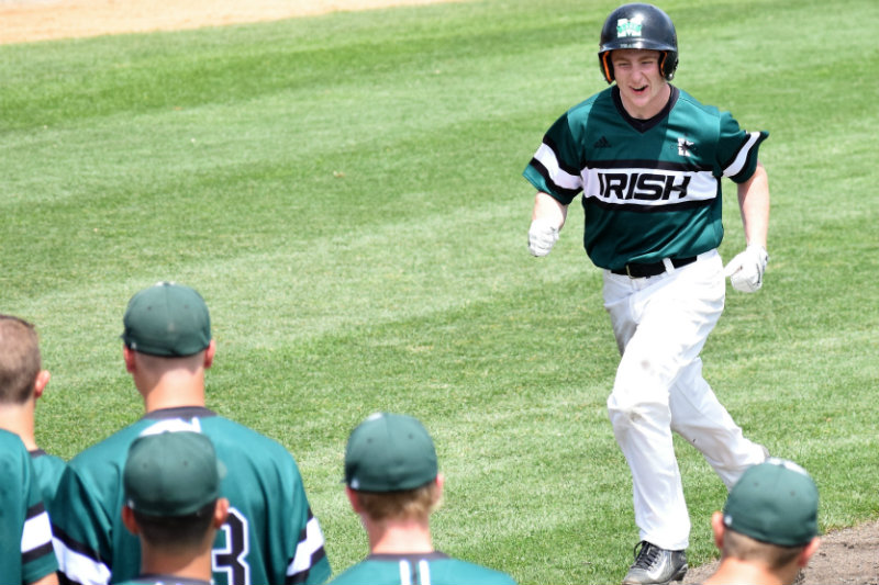 Besides their loss to eventual Class 2A champion Minnehaha Academy in the 2017 state tournament, the Irish haven't lost since May 4, 2017 when they split a doubleheader with Pierz. Photo by Taylor Lunemann, SportsEngine