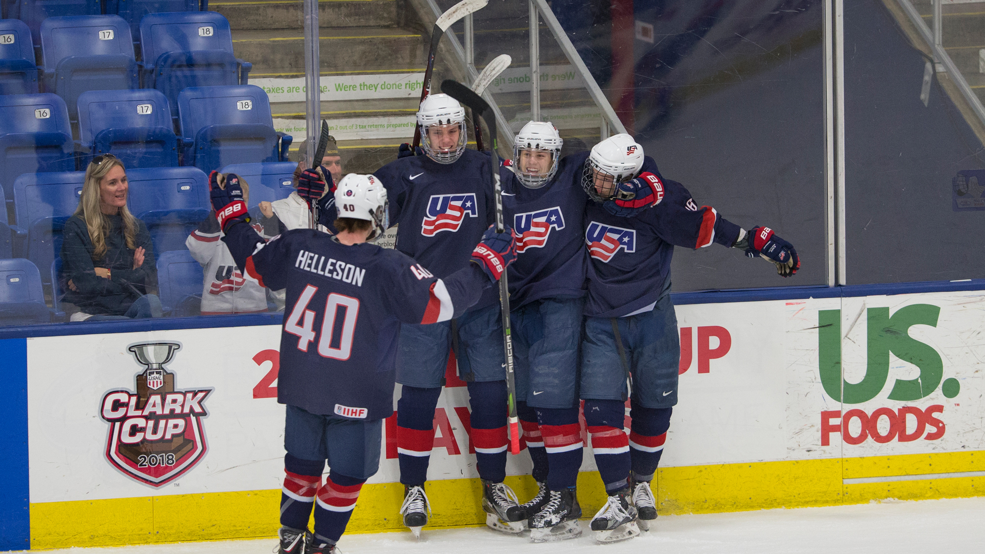 USHL: Team USA Evens Series With Youngstown; Skates Past Phantoms 10-6