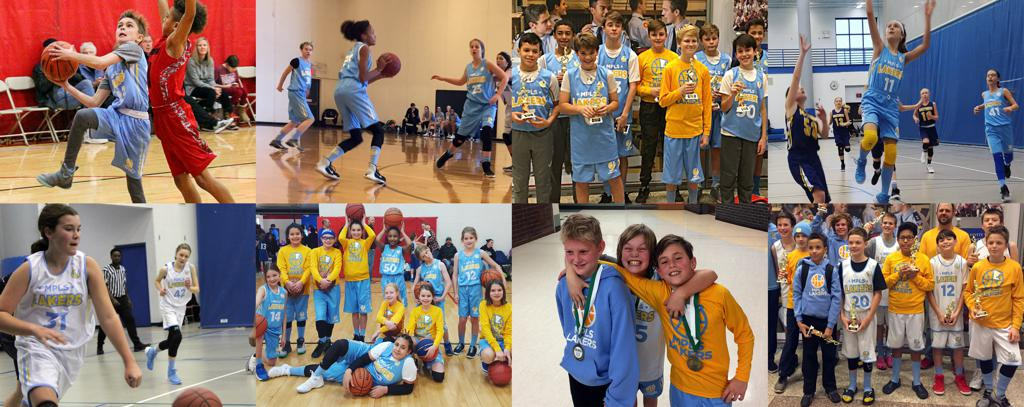 Mpls Lakers Boys and Girls photo collage