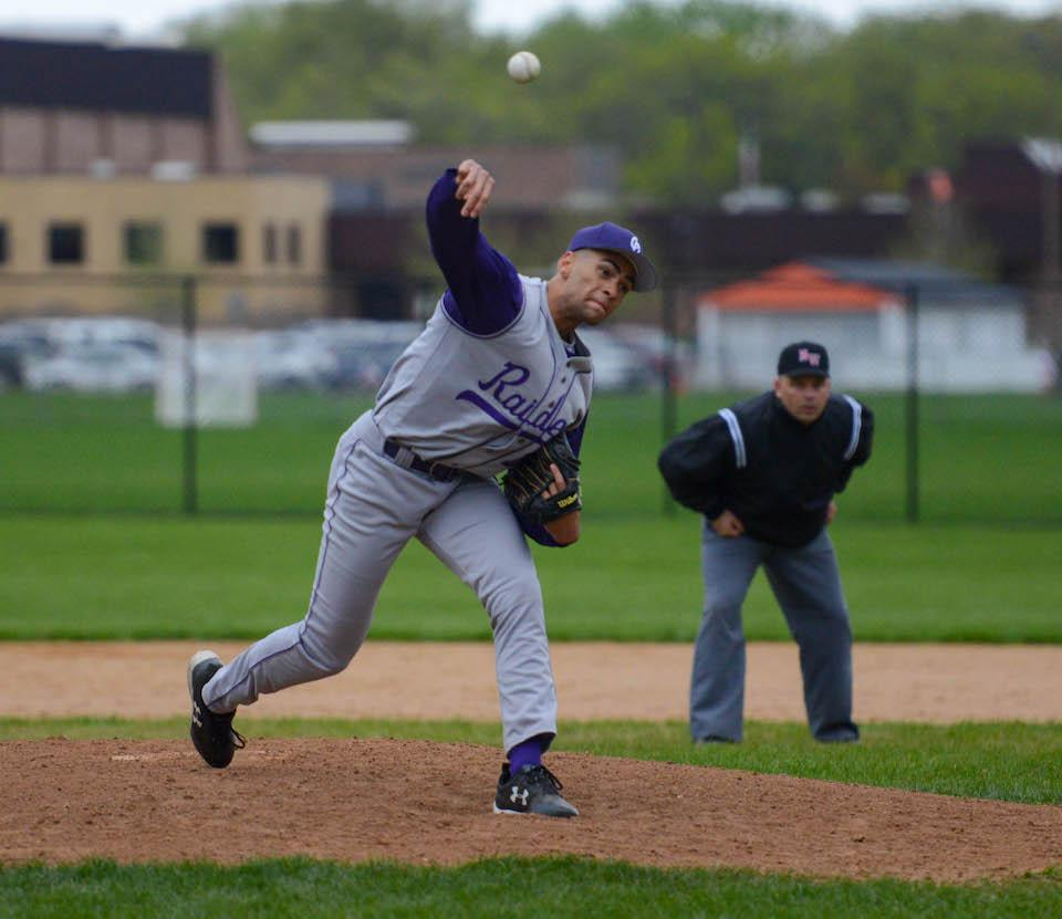 In 18 innings this season, Cretin-Derham Hall's Peter Udoibok has allowed just two earned runs. On Thursday, he may get the call to halt a Stillwater offense that's averaging 6.9 runs per game. Photo by Carter Jones, SportsEngine