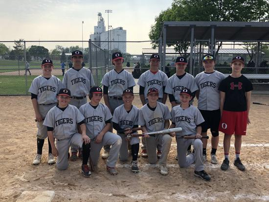 2018 Runner Up, Lincoln Wood Bat Tourney 13U Vallinch