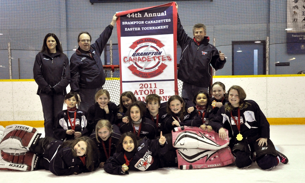 Girls U10 Team Wins Brampton Canadettes Tournament In Canada-7200