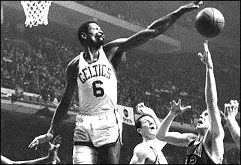 William Felton Bill Russell Born February 12 1934