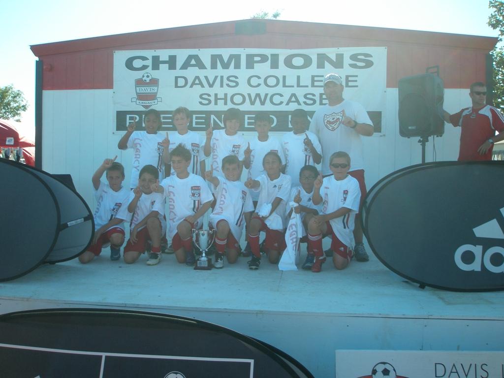 VUSC Galaxy U11 Boys win Davis Super Clasico Championship