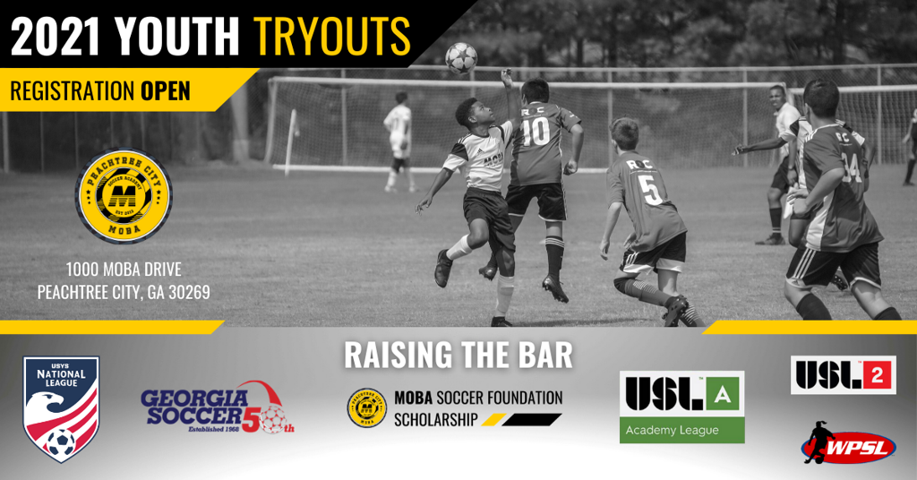 MOBA Soccer Academy 2021 Youth Tryouts