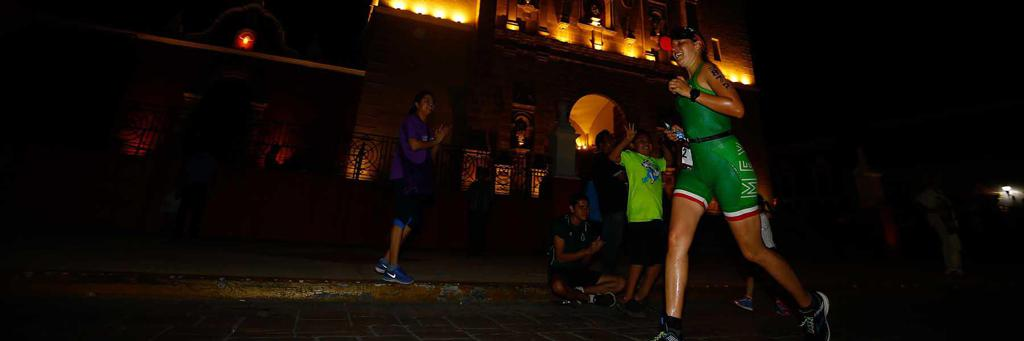 Runner from Campeche Mexico IRONMAN 70.3