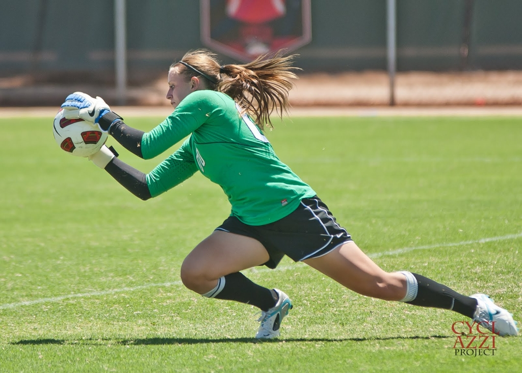 An all round academic and soccer player of Las Vegas staying on at UNLV